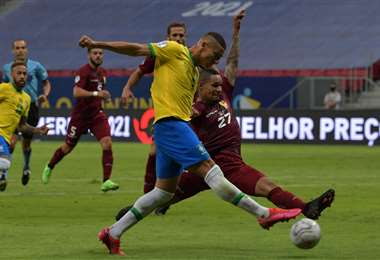Brasil viene de golear (3-0) a Venezuela en la primera fecha. Foto: AFP