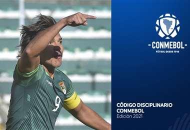 Martins pasa momentos complicados en la Copa América. Foto: APG Noticias y Conmebol