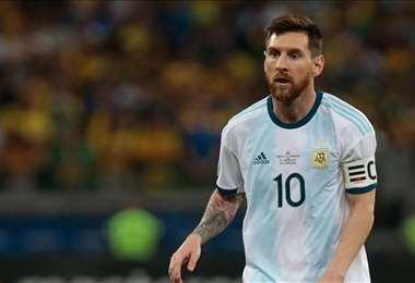 Leo Messi, jugador de la selección argentina. Foto: internet