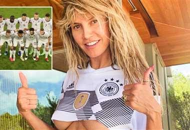 Heidi Klum tiene cuatro hijos