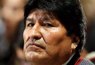 Imagen de archivo de Evo Morales