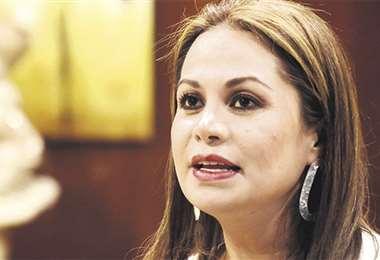 Foto: La exministra de Comunicación
