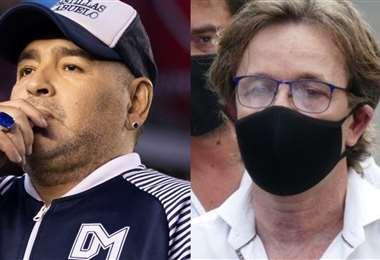 La Justicia investiga si la muerte de Diego Maradona se pudo evitar. Foto: internet