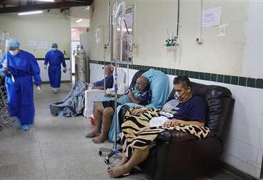 Las salas de terapia intensiva no abastecen en la atención