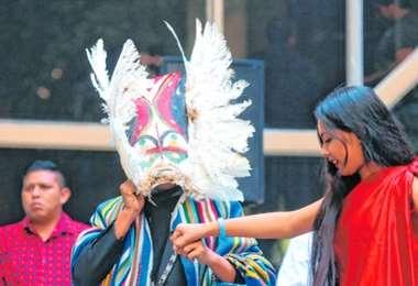 Samaipata se convirtió en un escenario para recibir el año nuevo amazónico. EL DEBER