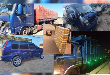 Imágenes que dejaron los operativos en varias partes del país.