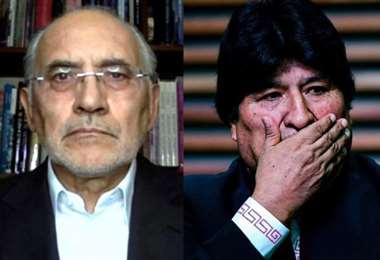 Carlos Mesa y Evo Morales I internet.