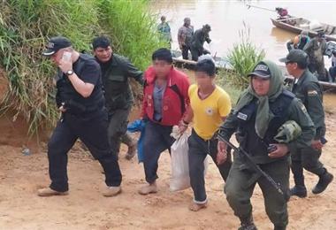 Los dos detenidos retornaron a su comunidad. Foto. Internet