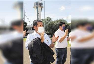 Las operaciones de aeropuertos del país serán suspendidas
