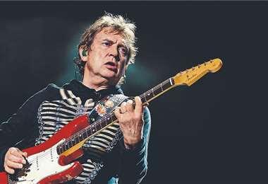 Summers fue parte del trío de rock The Police, vigente entre 1977 y 1986