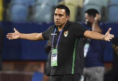 César Farías, entrenador de la selección nacional. Foto: AFP