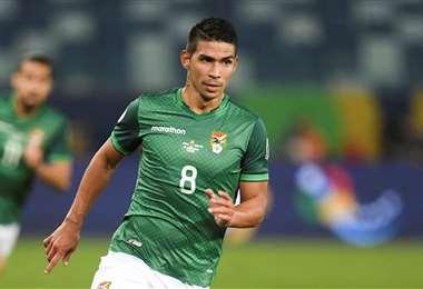Diego Bejarano no podrá jugar ante Uruguay.  Foto: AFP