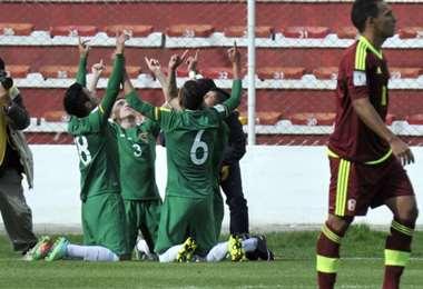 En las pasadas eliminatorias, Bolivia venció (4-2) a Venezuela en La Paz. Foto: Internet