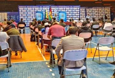 Las instituciones de Cochabamba se reunieron para asumir decisiones (Foto: COED)