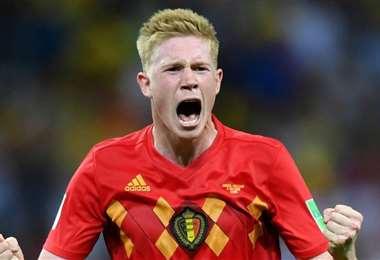 Kevin De Bruyne es pieza clave en la selección de Bélgica. Foto: Internet