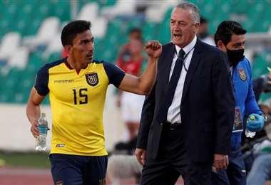 Gustavo Alfaro, entrenador de la selección de Ecuador. Foto: internet