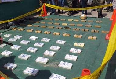 Foto archivo: el camión con droga fue retenido en el municipio de Cotoca.