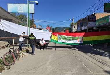 Los cívicos de Yacuiba que bloquearon esperan a las autoridades para negociar