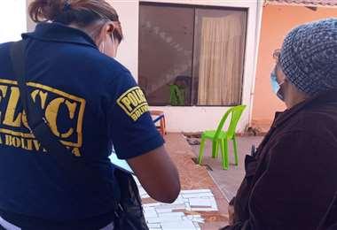 Policía recibió la denuncia de la afectada Foto: Redes sociales
