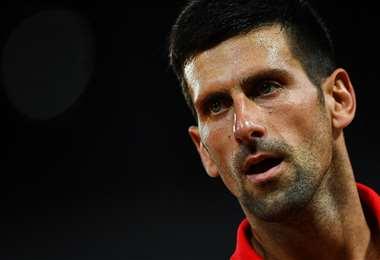 Novak Djokovic es el número uno del mundo en el tenis. Foto: AFP