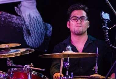 Este baterista paceño murió anoche