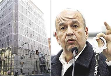 El exministro Arturo Murillo