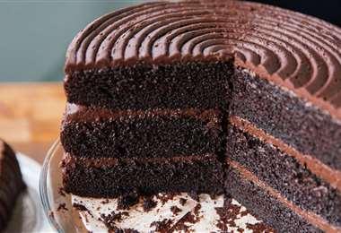 Torta de chocolate con mayonesa