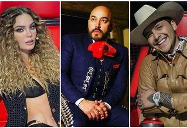 Belinda, Lupillo Ri vera y Christian Nodal llevan días en la polémica