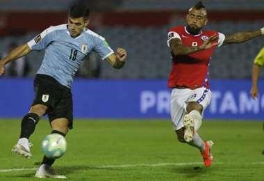 Uruguay y Chile jugarán este lunes a Cuiabá. Foto: internet