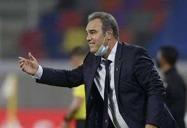 Martín Lasarte, entrenador de la selección chilena. Foto: internet
