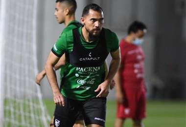 Luis Barbosa, lateral cruceño que integra la selección. Foto: FBF