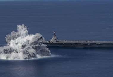 El buque de guerra estadounidense seguirá con las pruebas
