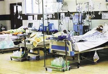 El Sedes dijo que salas de terapia intensiva están llenas. Foto Archivo
