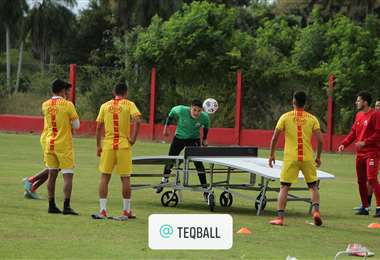 Guabirá se alista en Montero para la reanudación del campeonato. Foto: Internet