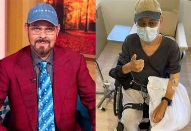 James Michael Tyler se encuentra paralizado por la enfermedad