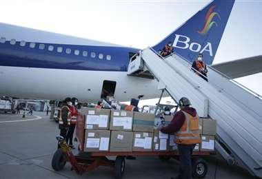 Las vacunas que llegaron a Cochabamba I APG Noticias.