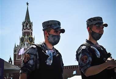 Moscú impone pase sanitario anticovid para ir al restaurante   AFP