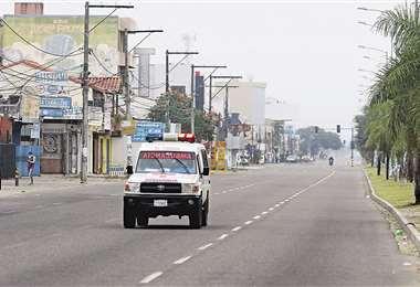 En el feriado por el Año Nuevo Andino Amazónico la capital cruceña estuvo encapsulada