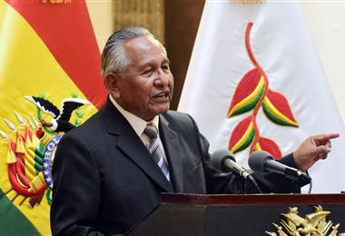 Víctor Hugo Cárdenas, exvicepresidente de Bolivia. Foto. Internet