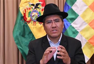 Diego Pary, embajador de Bolivia en la ONU. Foto. Internet