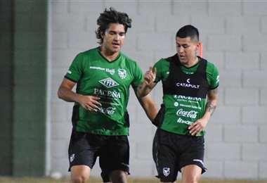 Marcelo Martins trabajó permanentemente con Juan Carlos Arce. Foto: FBF