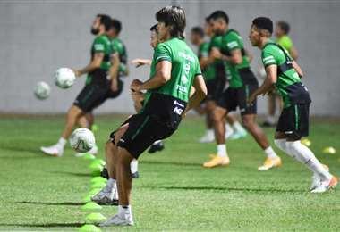 La selección cerró su preparación este miércoles en Cuiabá. Foto: FBF