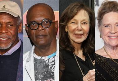 Danny Glover, Samuel L. Jackson, Elaine May y Liv Ullmann