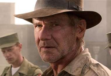 Harrison Ford  en una escena de la saga de Indiana Jones
