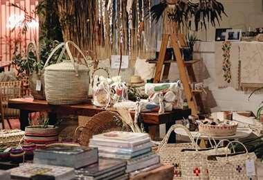 Algunas de las piezas que se exhiben en esta muestra