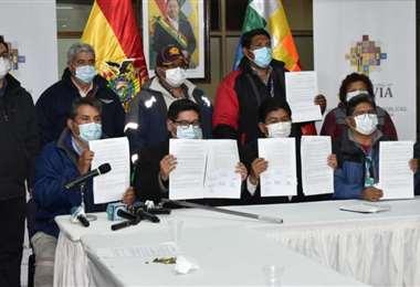 El acuerdo garantiza la normal atención en los aeropuertos del país