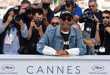 Spike Lee en una edición anterior del Festival de Cannes