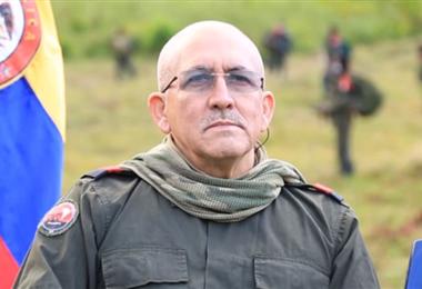 Antonio García, comandante del ELN. Foto. Internet