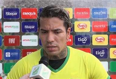 Dayro Moreno apunta a mejorar su rendimiento en Oriente. Foto: Captura de pantalla