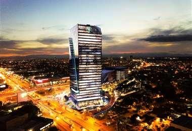 En la Torre MSC también operan las oficinas del Banco Mercantil Santa Cruz